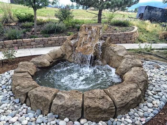 Outdoor Water Features Cincinnati Backyard Waterfalls