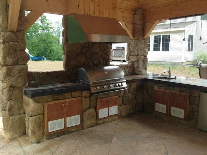 Outdoor Kitchens l Masonry Cincinnati l Backyard BBQ ...